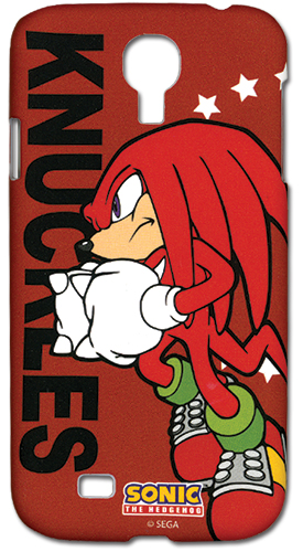 Sonic The Hedgehog Knuckles Samsung S4 Case, an officially licensed product in our Sonic Costumes & Accessories department.