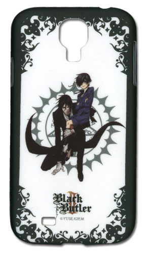 Black Butler 2 - Sebastian & Ciel Samsung S4 Phone Case, an officially licensed product in our Black Butler Costumes & Accessories department.