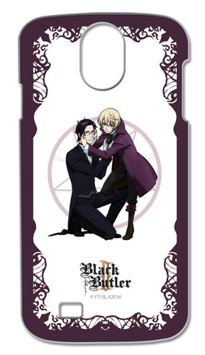 Black Butler 2 - Claude & Alois Samsung S4 Phone Case, an officially licensed Black Butler product at B.A. Toys.