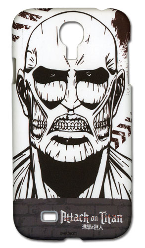 Attack On Titan - Giant Titan Samsun S4 Phone Case, an officially licensed Attack on Titan Cell Phone Accessory