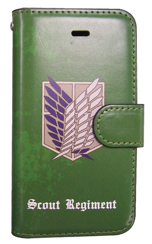 Attack On Titan - Scout Regiment Iphone 5 Case, an officially licensed Attack On Titan product at B.A. Toys.