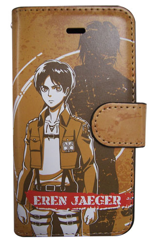 Attack On Titan - Eren Iphone 5 Case officially licensed product at B.A. Toys.