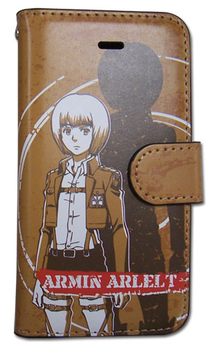 Attack On Titan - Armin Iphone 5 Case, an officially licensed Attack on Titan Cell Phone Accessory