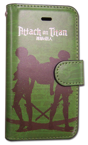 Attack On Titan - Eren & Levi Iphone 5 Case, an officially licensed product in our Attack On Titan Costumes & Accessories department.