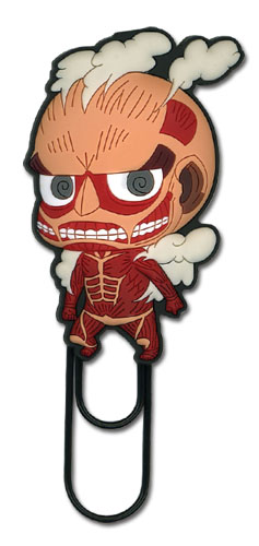 Attack On Titan - Sd Titan Pc Paper Clip, an officially licensed product in our Attack On Titan Costumes & Accessories department.