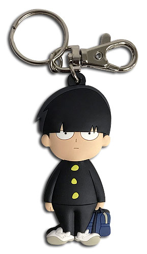 Mob Psycho 100 - Mob Sd Pvc Keychain, an officially licensed product in our Mob Psycho 100 Key Chains department.