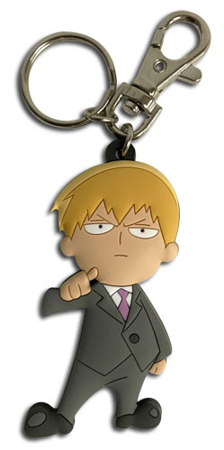 Mob Psycho 100 - Reigen Sd Pvc Keychain, an officially licensed product in our Mob Psycho 100 Key Chains department.