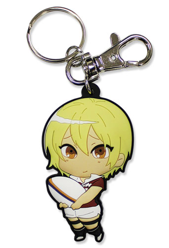 All Out!!! - Iwashimizu Pvc Keychain, an officially licensed product in our All Out!!! Key Chains department.