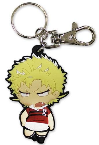 All Out!!! - Ebumi Pvc Keychain, an officially licensed product in our All Out!!! Key Chains department.