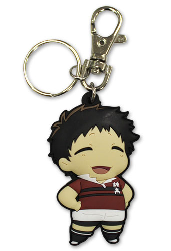 All Out!!! - Hachioji Pvc Keychain, an officially licensed product in our All Out!!! Key Chains department.
