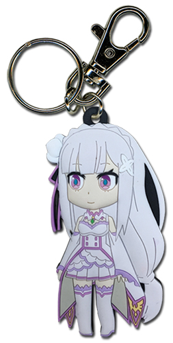 Re:Zero - Emilia Keychain, an officially licensed product in our Re-Zero Key Chains department.