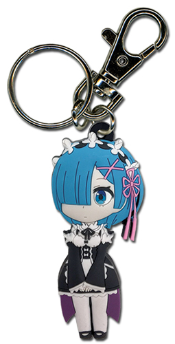 Re:Zero - Rem Keychain, an officially licensed product in our Re-Zero Key Chains department.