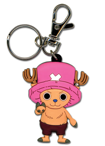 One Piece Chopper Pvc Keychain, an officially licensed product in our One Piece Key Chains department.