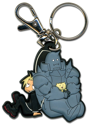 Fma Brotherhood Ed Al Kitty Pvc Keychain, an officially licensed product in our Fullmetal Alchemist Key Chains department.