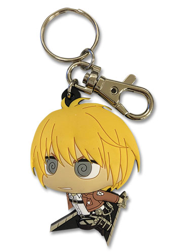 Attack On Titan S2 - Sd Armin Pvc Keychain, an officially licensed product in our Attack On Titan Key Chains department.