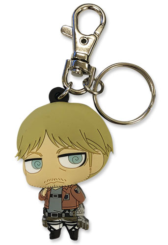 Attack On Titan S2 - Sd Mike Pvc Keychain, an officially licensed product in our Attack On Titan Key Chains department.