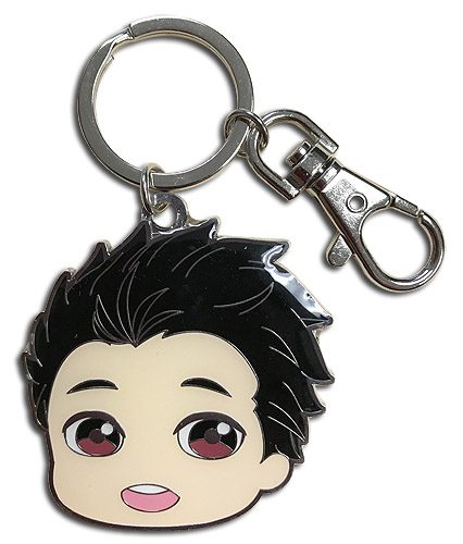 Yuri On Ice!!! - Sd Yuri Metal Keychain, an officially licensed product in our Yuri!!! On Ice Key Chains department.