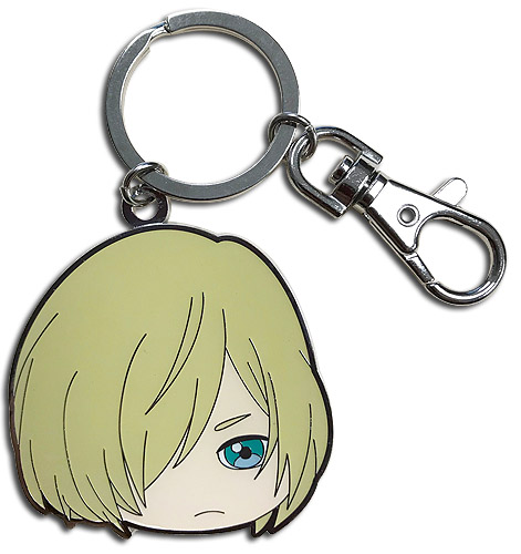 Yuri On Ice!!! - Sd Yurio Metal Keychain, an officially licensed product in our Yuri!!! On Ice Key Chains department.