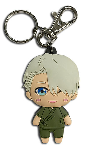 Yuri On Ice!!! - Sd Casual Victor Pvc Keychain, an officially licensed product in our Yuri!!! On Ice Key Chains department.