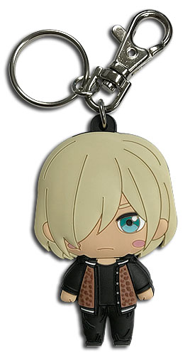 Yuri On Ice!!! - Sd Casual Yuri Pvc Keychain, an officially licensed product in our Yuri!!! On Ice Key Chains department.