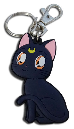 Sailor Moon S - Luna Pvc Keychain, an officially licensed product in our Sailor Moon Key Chains department.
