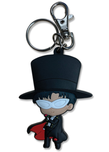 Sailor Moon - Txuedo Kamen Pvc Keychain, an officially licensed product in our Sailor Moon Key Chains department.