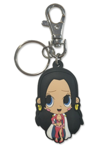 One Piece - Hancock Pvc Keychain officially licensed One Piece Key Chains product at B.A. Toys.