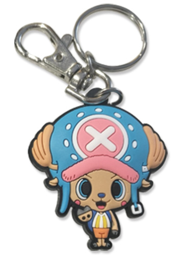One Piece - Chopper Pvc Keychain 2'', an officially licensed product in our One Piece Key Chains department.