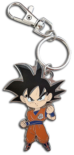 Dragon Ball Super - Sd Goku Metal Keychain, an officially licensed product in our Dragon Ball Super Key Chains department.