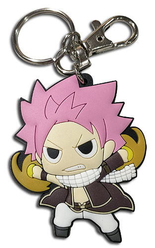 Fairy Tail - S8 Sd Natsu Pvc Keychain, an officially licensed product in our Fairy Tail Key Chains department.