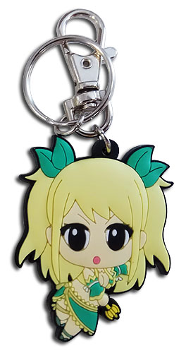 Fairy Tail - S8 Sd Lucy Pvc Keychain, an officially licensed product in our Fairy Tail Key Chains department.