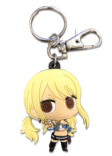 Fairy Tail - S7 Sd Lucy Pvc Keychain, an officially licensed product in our Fairy Tail Key Chains department.