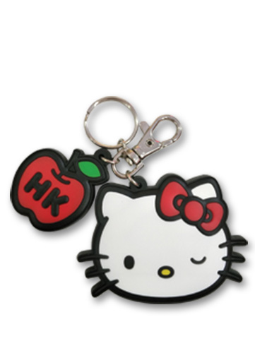 Hello Kitty - Hello Kitty Pvc Keychain, an officially licensed product in our Hello Kitty Key Chains department.