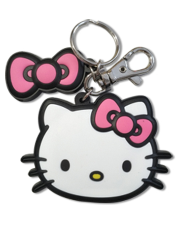 Hello Kitty - Hello Kitty Keychain, an officially licensed product in our Hello Kitty Key Chains department.