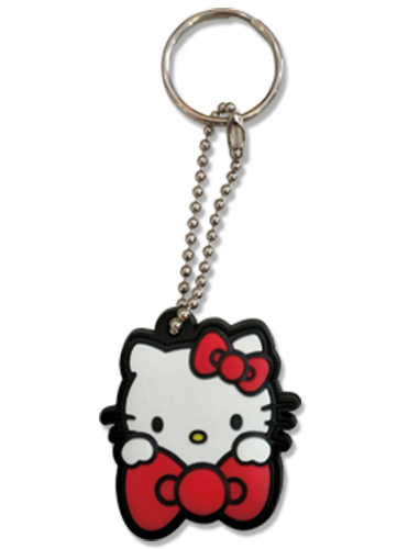 Hello Kitty - Pvc Keycap, an officially licensed product in our Hello Kitty Key Chains department.