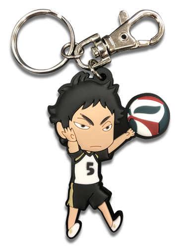 Haikyu!! - Akaashi Pvc Keychain, an officially licensed product in our Haikyu!! Key Chains department.