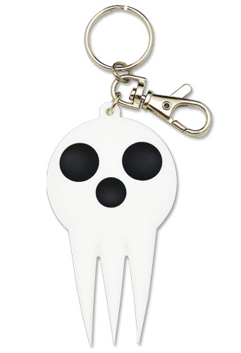 Soul Eater Skull Pvc Keychain, an officially licensed product in our Soul Eater Key Chains department.