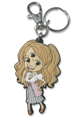 One Piece - Pudding Pvc Keychain 2.5'' officially licensed One Piece Key Chains product at B.A. Toys.