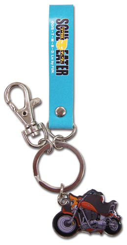 Soul Eater Soul Strap Metal Keychain, an officially licensed product in our Soul Eater Key Chains department.