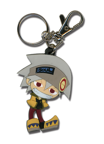 Soul Eater Soul Sd Pvc Keychain, an officially licensed product in our Soul Eater Key Chains department.