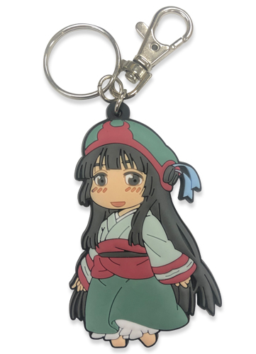 Hakumei & Mikochi - Mikochi Pvc Keychain, an officially licensed product in our Hakumei & Mikochi Key Chains department.