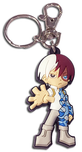 My Hero Academia - Sd Todoroki Pvc Keychain, an officially licensed product in our My Hero Academia Key Chains department.