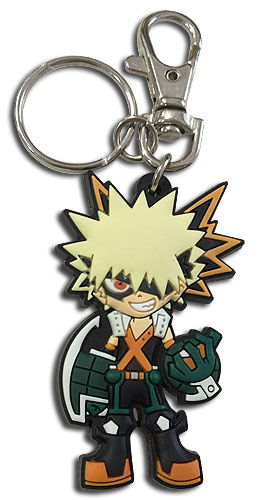My Hero Academia - Sd Bakugo Pvc Keychain, an officially licensed product in our My Hero Academia Key Chains department.