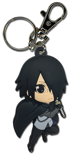 Boruto - Sasuke Pvc Keychain, an officially licensed Boruto product at B.A. Toys.