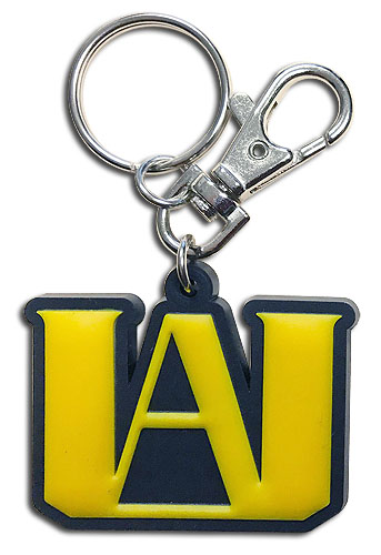 My Hero Academia - Ua Logo Pvc Keychain, an officially licensed product in our My Hero Academia Key Chains department.