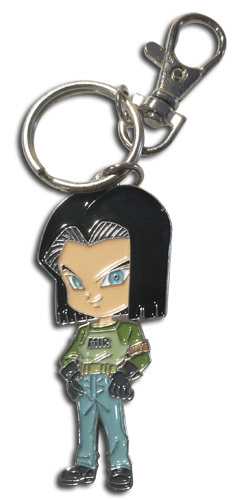 Dragon Ball Super - Sd Android 17 Metal Keychain, an officially licensed product in our Dragon Ball Super Key Chains department.