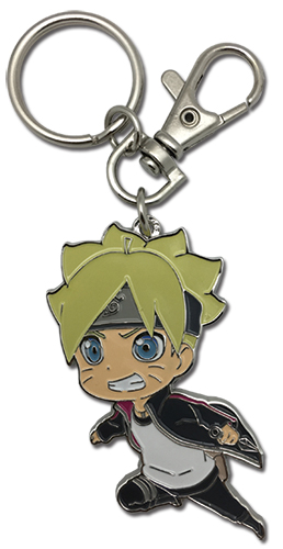 Boruto - Boruto Metal Keychain, an officially licensed product in our Boruto Key Chains department.