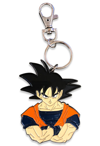 Dragon Ball Z - Goku Bust Metal Keychain, an officially licensed product in our Dragon Ball Z Key Chains department.