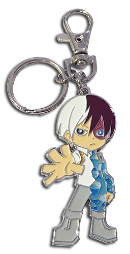 My Hero Academia - Sd Todoroki Enamel Metal Keychain, an officially licensed product in our My Hero Academia Key Chains department.