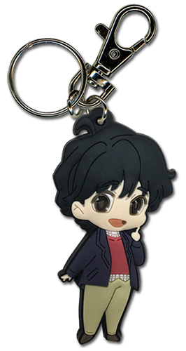 Banana Fish - Eiji Pvc Keychain, an officially licensed product in our Banana Fish Key Chains department.